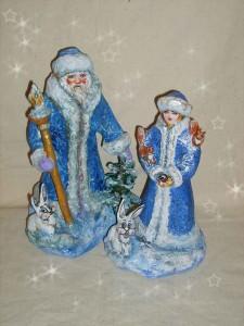 Дед и снегурочка