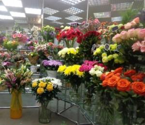 цветочный магазин, цветы, море цветов