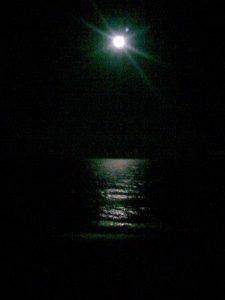 Ночь. Луна.  Красота.