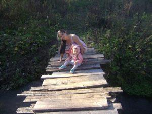 женщина и ребёнок