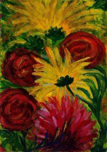 оенние цветы