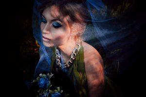 Фото: Камила Кутушева. Девушка под вуалью.