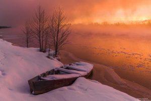 Фото: Андрей Олонцев. Огонь и лёд.