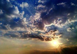 Небо. Закат. Фото. Алла Бойко.